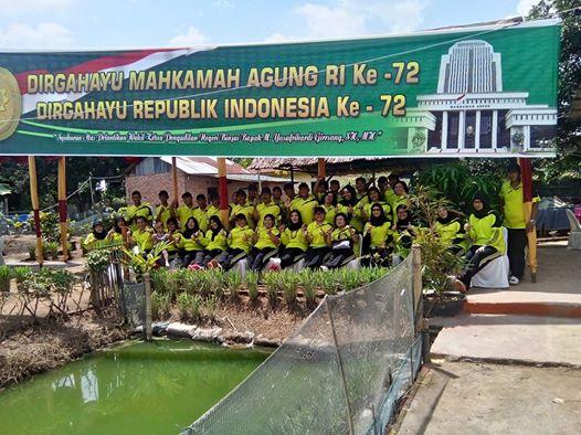 UPACARA PERINGATAN HARI ULANG TAHUN MAHKAMAH AGUNG REPUBLIK INDONESIA
